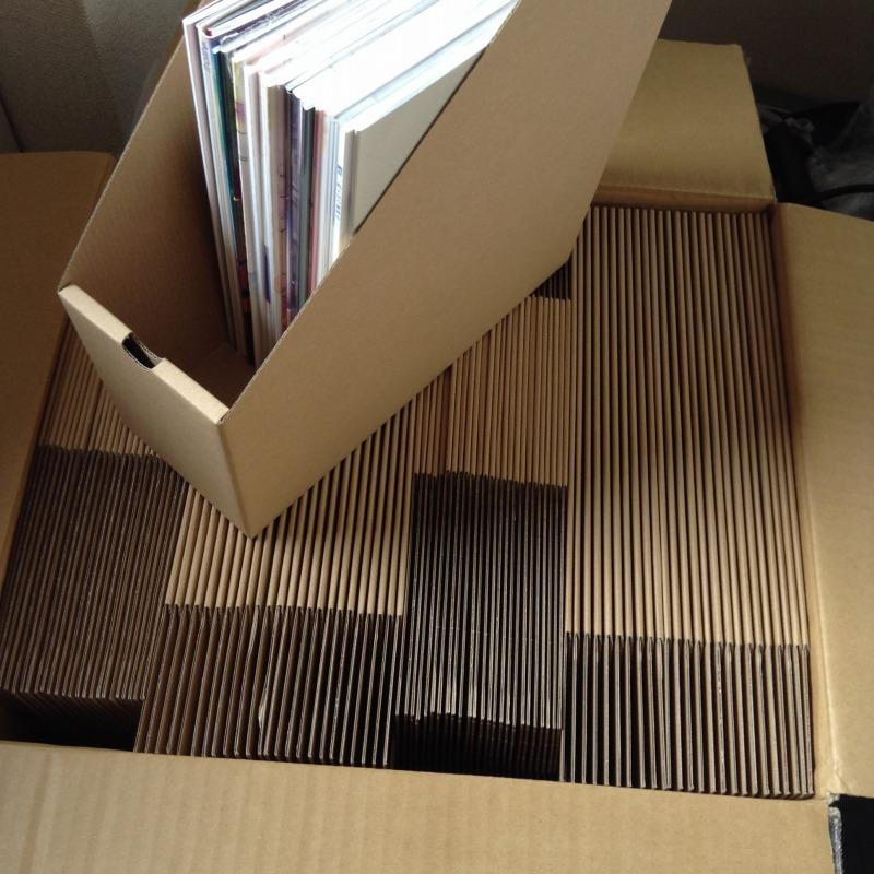 ファイルボックス100枚