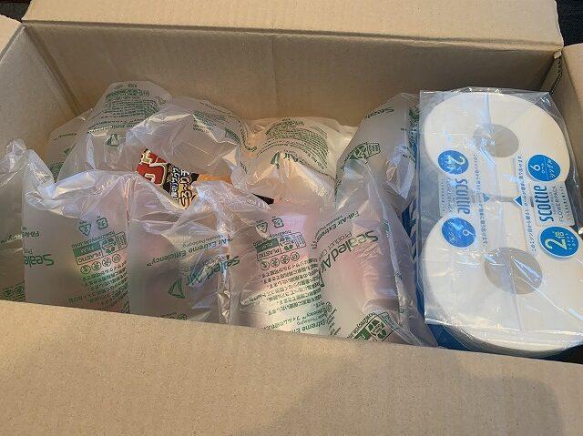 Amazonパントリーの梱包材