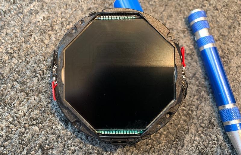 六角形の液晶