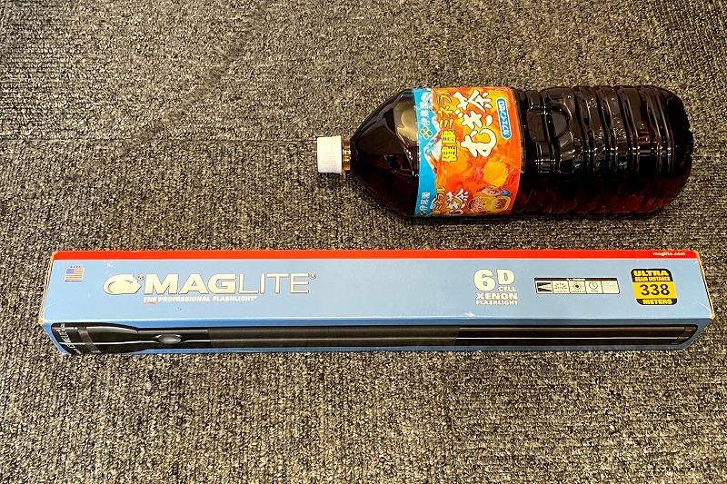 マグライト6Dの外箱