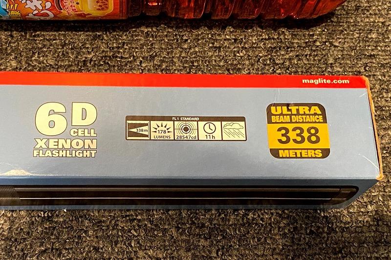 マグライト6Dのスペック